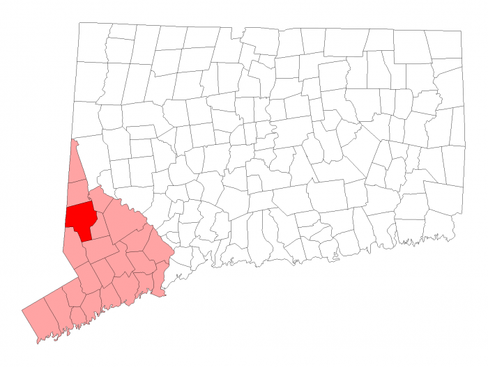 map - Danbury