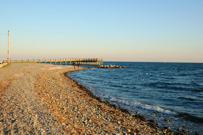 seashore and a view of the pier - MIlford