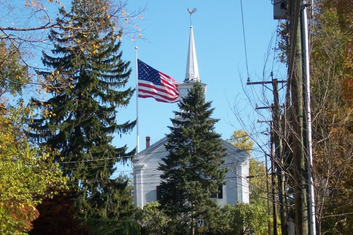 AMERICAN FLAG AND TOWER - Newton