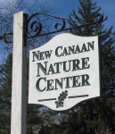 New Canaan Nature Center signage