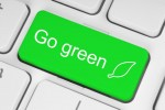 Go Green button keyboard